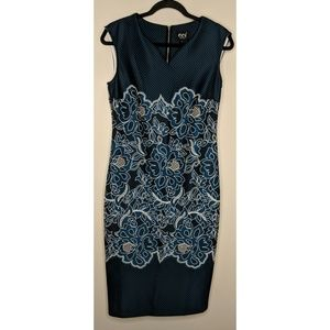 eci New York Sleeveless Sheath Dress - Sz 6 - NWT